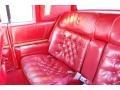 Rear Seat of 1985 Eldorado Biarritz Coupe