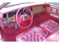 1985 Eldorado Red Interior