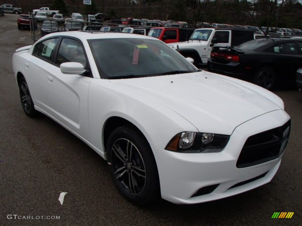 bright white 2013 dodge charger sxt plus awd exterior photo 79741131. Black Bedroom Furniture Sets. Home Design Ideas