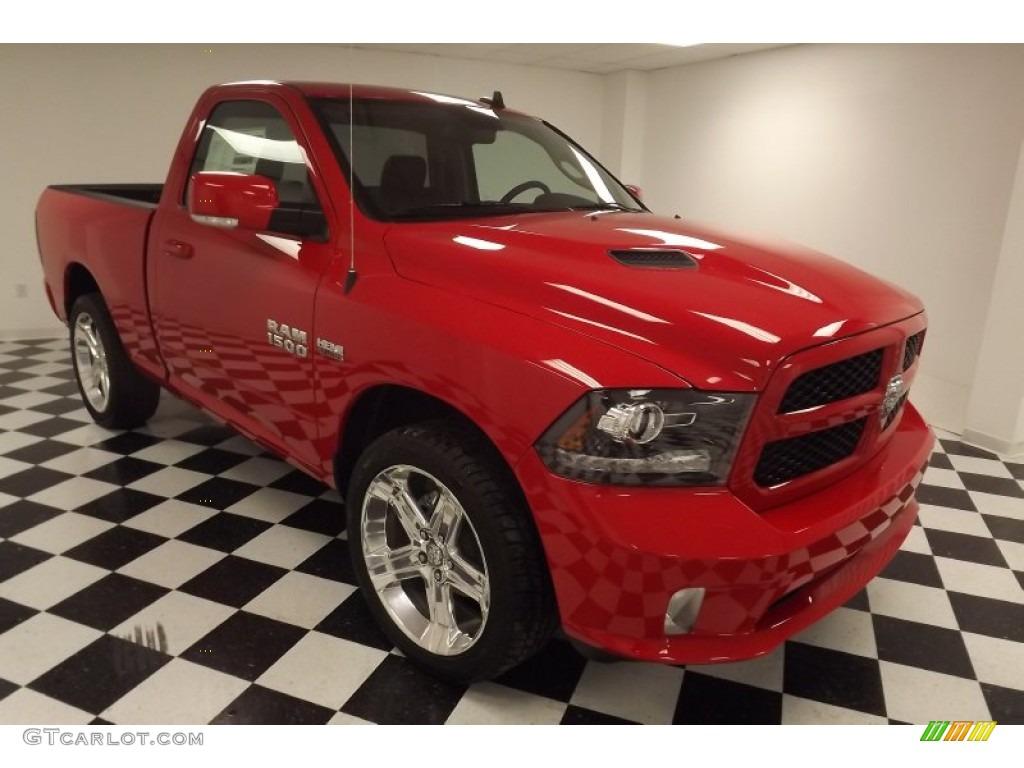 Flame red 2013 ram 1500 r t regular cab exterior photo 79742060 gtcarlot com