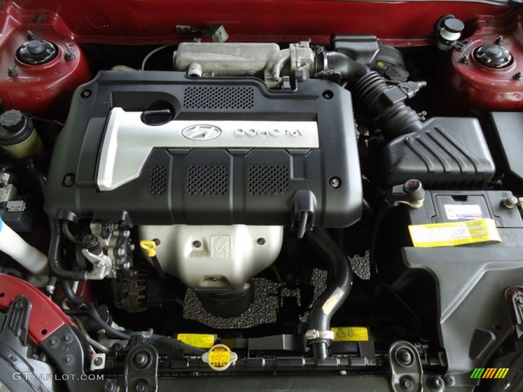 2006 Hyundai Tiburon Tuscani 2 0 Liter Dohc 16v Vvt 4