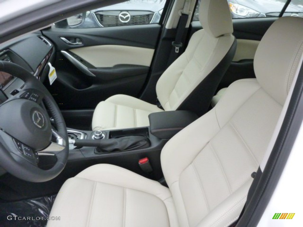 Sand Interior 2014 Mazda MAZDA6 Grand Touring Photo #79752917