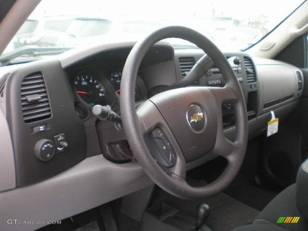 2013 Silverado 1500 LS Extended Cab 4x4 - Black / Ebony photo #3