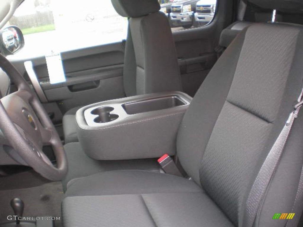 2013 Silverado 1500 LS Extended Cab 4x4 - Black / Ebony photo #5
