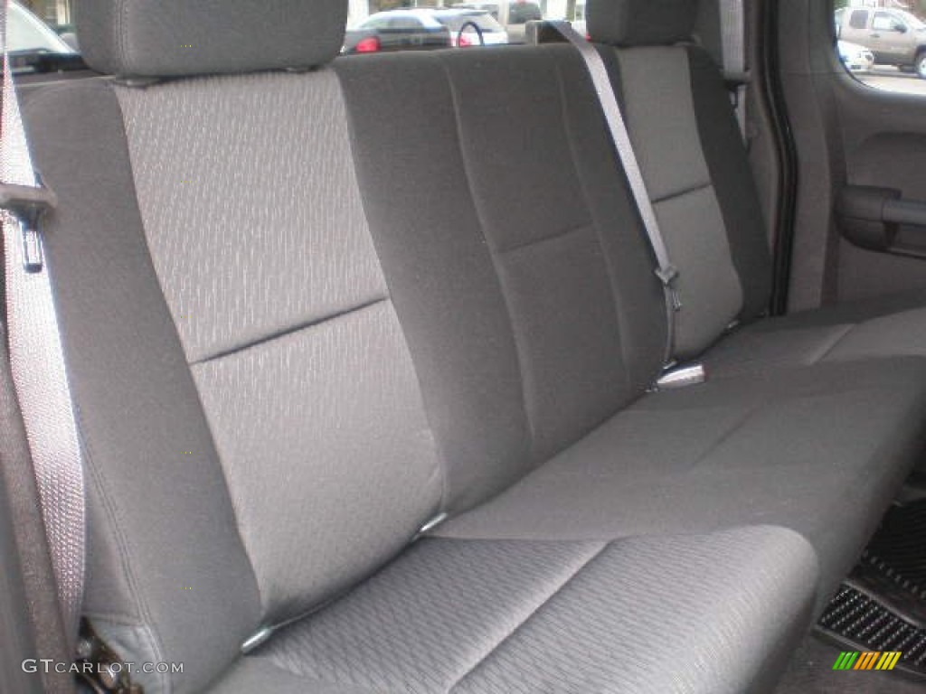 2013 Silverado 1500 LS Extended Cab 4x4 - Black / Ebony photo #9