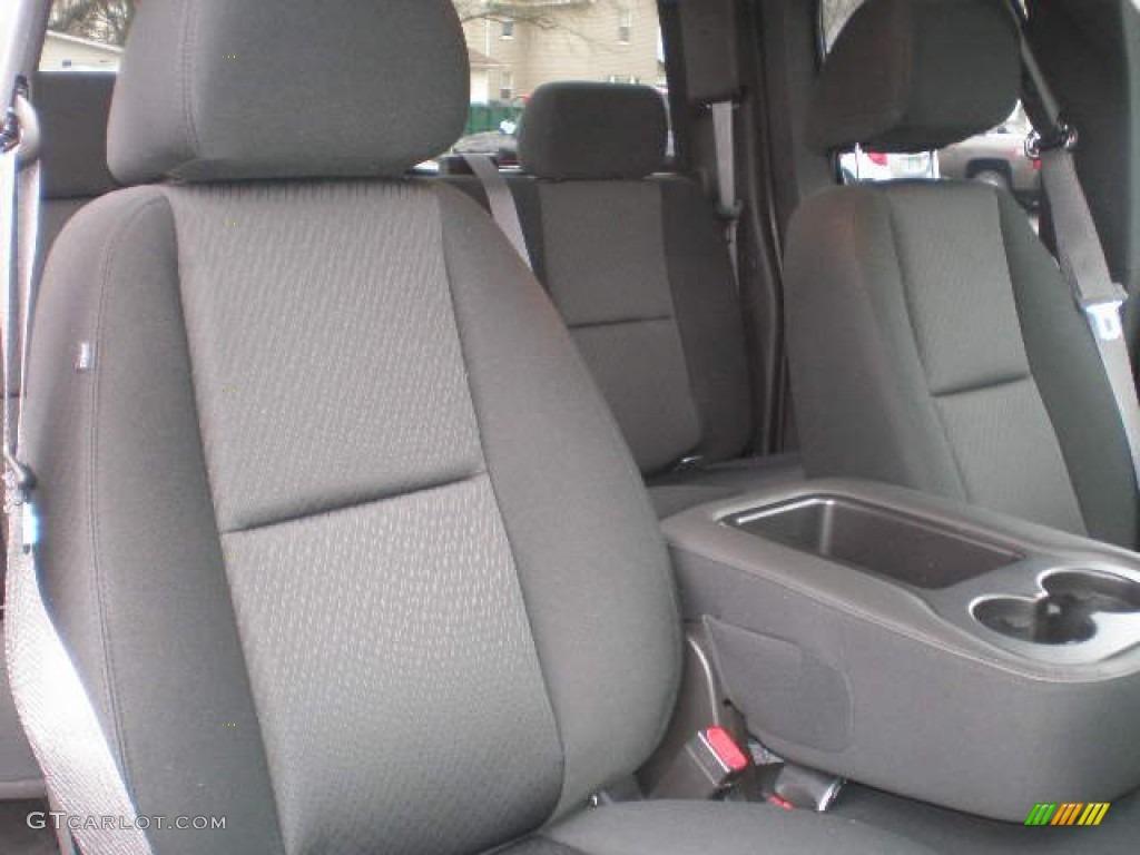2013 Silverado 1500 LS Extended Cab 4x4 - Black / Ebony photo #11