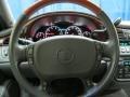 2002 Cadillac DeVille Dark Gray Interior Steering Wheel Photo