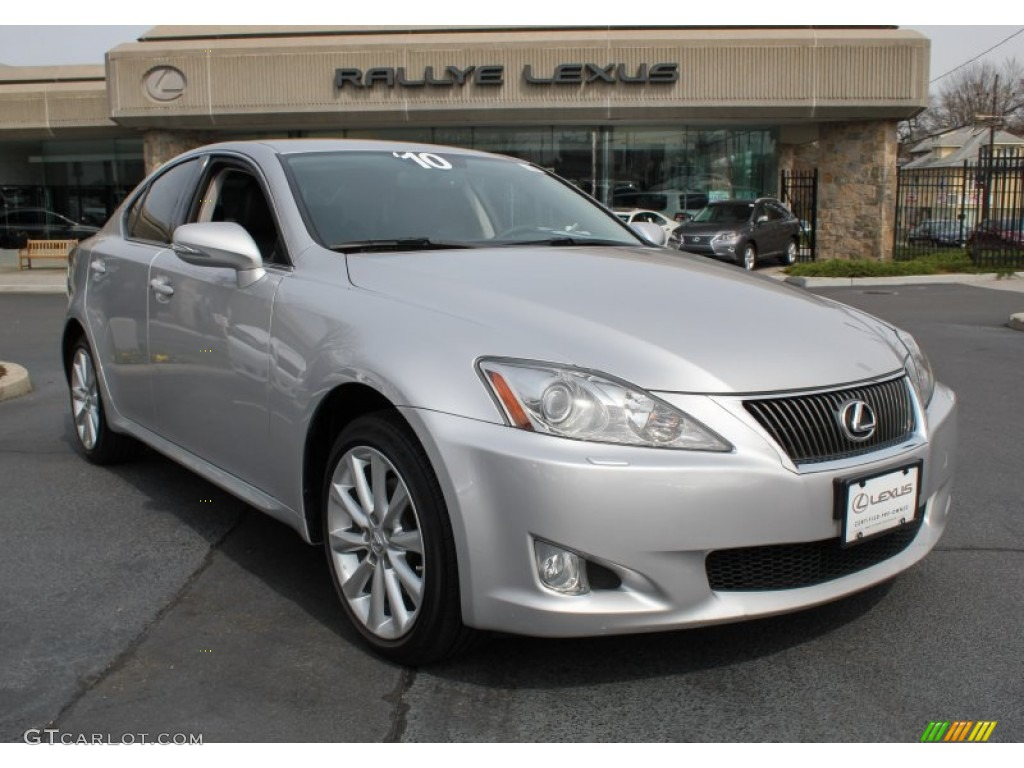2010 tungsten silver pearl lexus is 250 awd 79713246. Black Bedroom Furniture Sets. Home Design Ideas