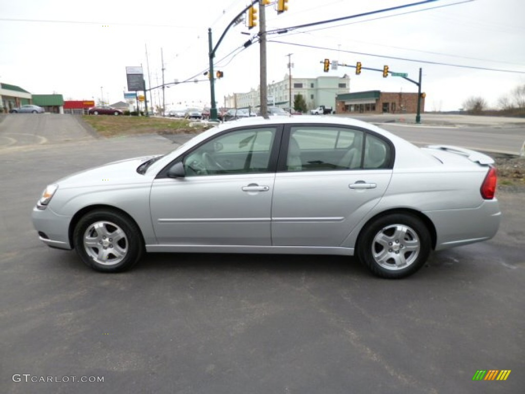 Galaxy Silver Metallic 2005 Chevrolet Malibu Lt V6 Sedan