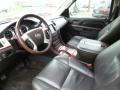 2010 Cadillac Escalade Ebony Interior Prime Interior Photo