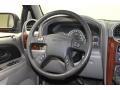 2002 GMC Envoy Medium Pewter Interior Steering Wheel Photo