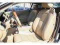 2007 Jaguar XK Caramel Interior Front Seat Photo