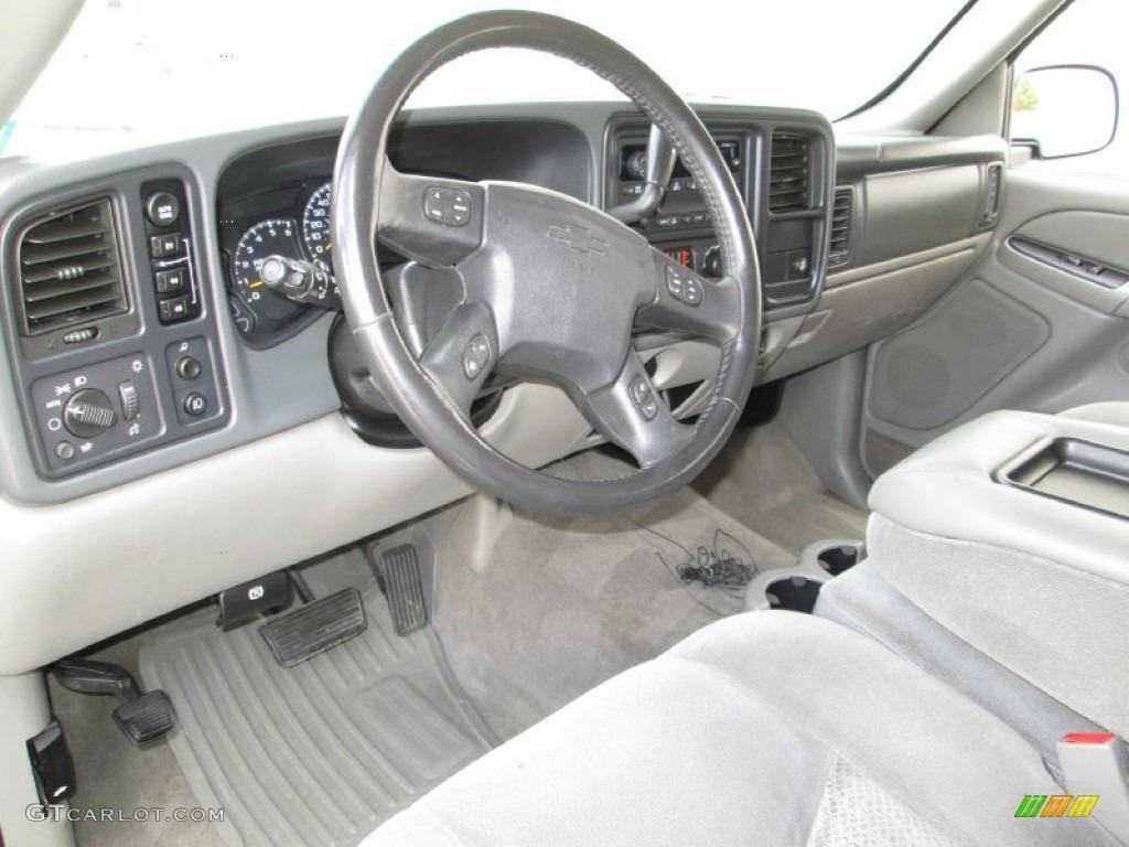 Gray Dark Charcoal Interior 2005 Chevrolet Avalanche Z71 4x4
