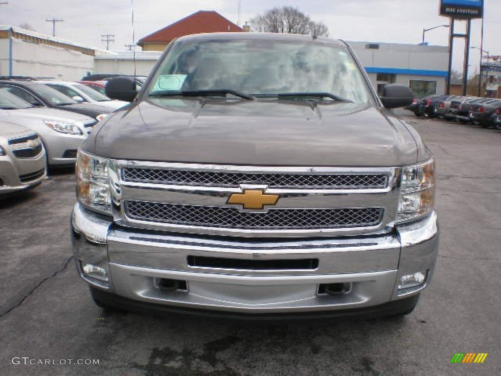 2013 Silverado 1500 LT Extended Cab 4x4 - Mocha Steel Metallic / Ebony photo #13