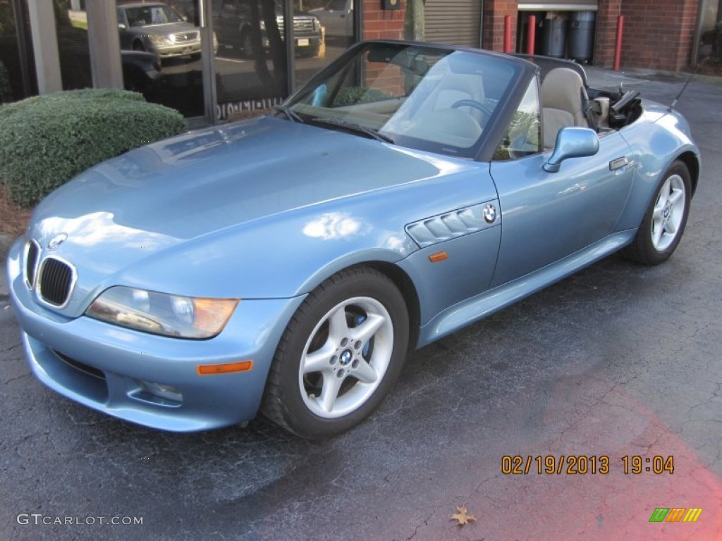 1997 Atlanta Blue Metallic Bmw Z3 2 8 Roadster 79814538