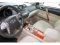 Sand Beige 2008 Toyota Highlander Interiors