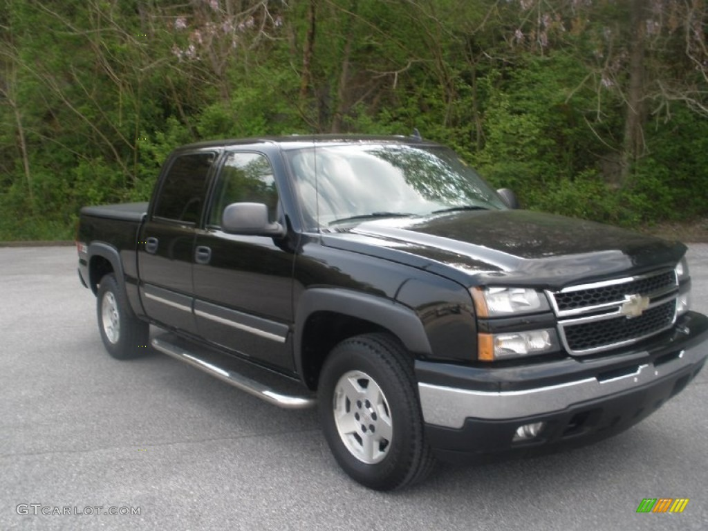 2006 chevrolet silverado 1500 z71 crew cab 4x4 exterior. Black Bedroom Furniture Sets. Home Design Ideas
