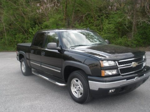 2006 chevrolet silverado 1500 z71 crew cab 4x4 data info. Black Bedroom Furniture Sets. Home Design Ideas