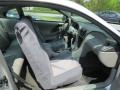 2001 Silver Metallic Ford Mustang V6 Coupe  photo #9