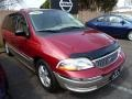 2001 Dark Red Saturn L Series LW200 Wagon #79814388