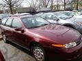 Dark Red 2001 Saturn L Series LW200 Wagon Exterior