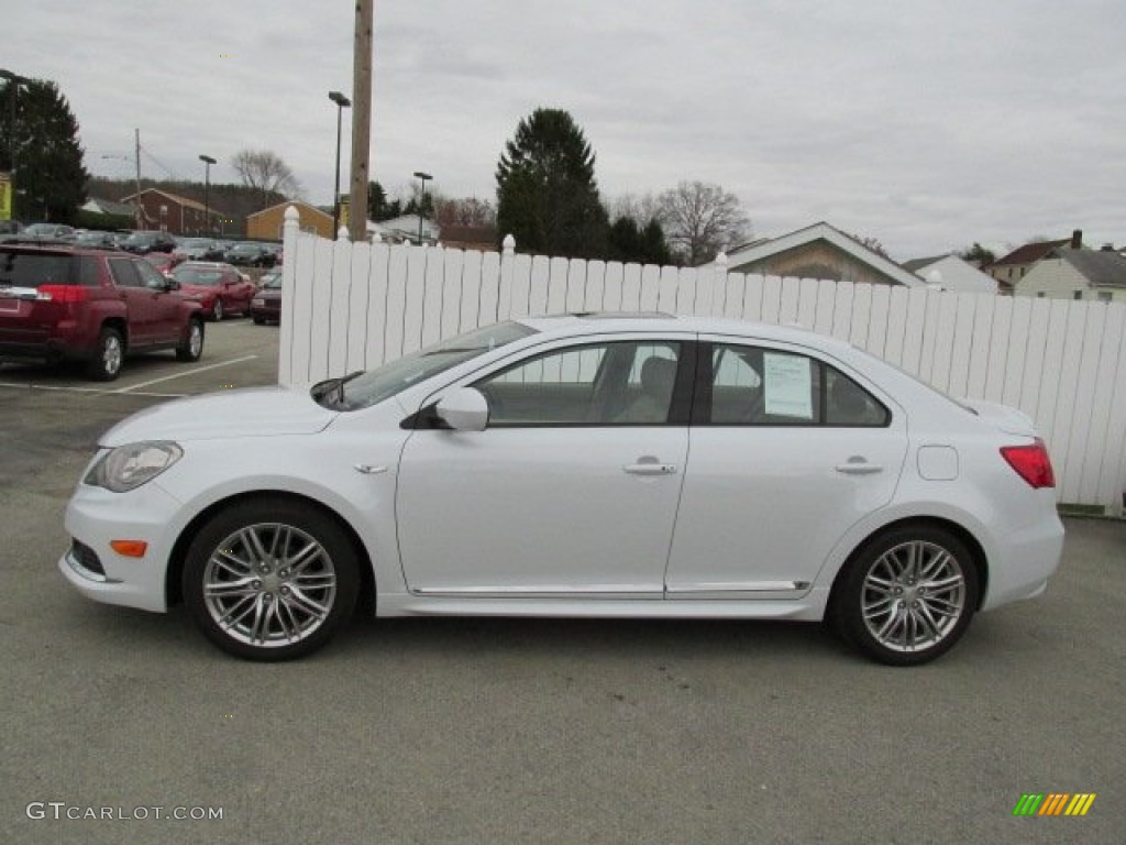 white water pearl 2012 suzuki kizashi sport sls awd. Black Bedroom Furniture Sets. Home Design Ideas