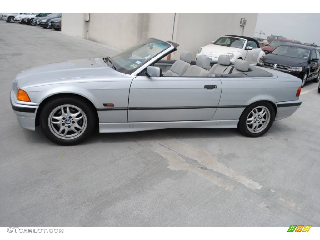 arctic silver metallic 1996 bmw 3 series 328i convertible. Black Bedroom Furniture Sets. Home Design Ideas