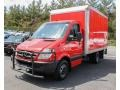 Flame Red 2010 Mercedes-Benz Sprinter 3500 Chassis Moving Truck