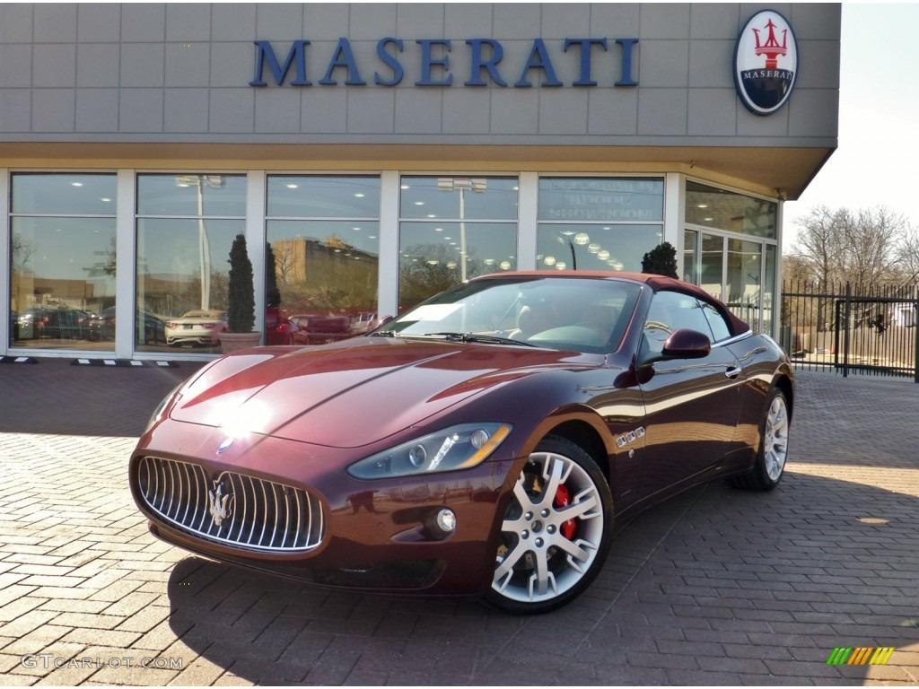 2013 bordeaux ponteveccio red metallic maserati - Maserati granturismo red interior ...