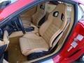 2009 Ferrari 599 GTB Fiorano Beige Interior Front Seat Photo