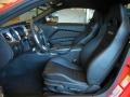 2014 Ford Mustang Charcoal Black Recaro Sport Seats Interior Interior Photo