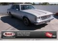 Silver Metallic 1987 Oldsmobile Cutlass Supreme Brougham