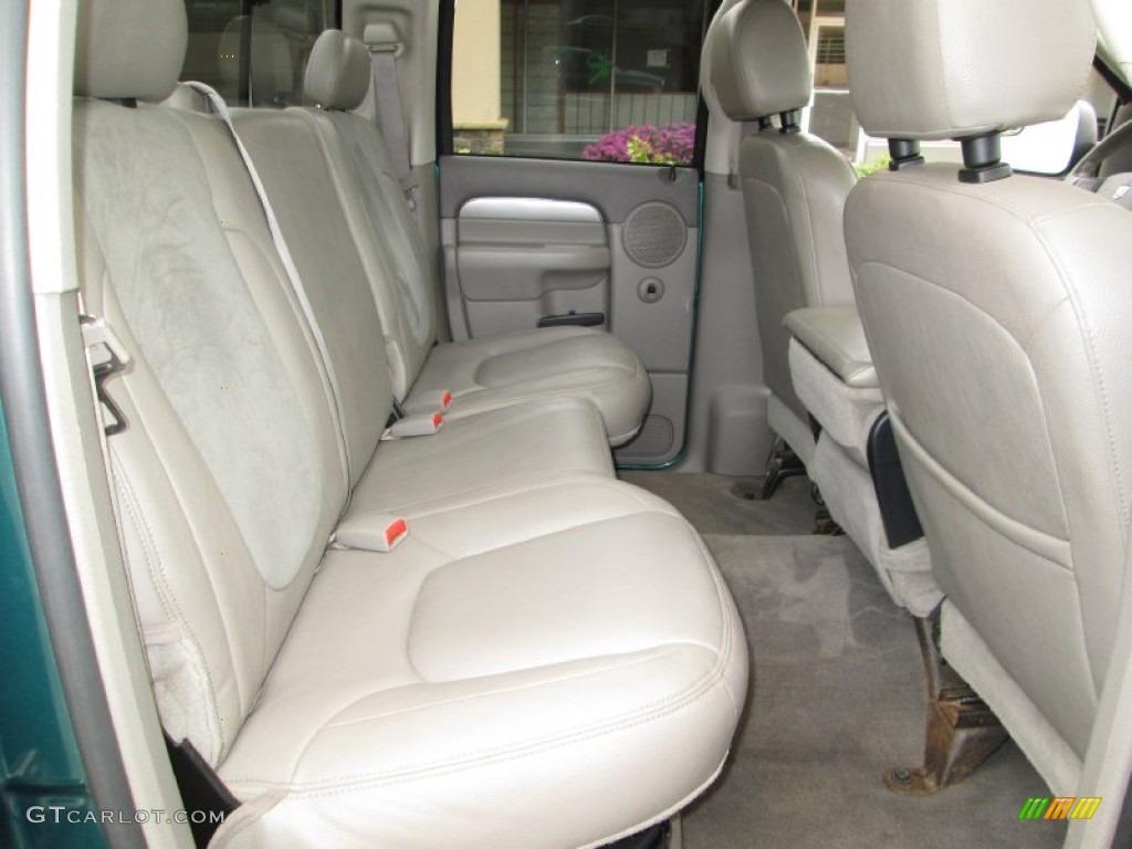 2004 Dodge Ram 1500 Laramie Quad Cab 4x4 Rear Seat Photo 79876038