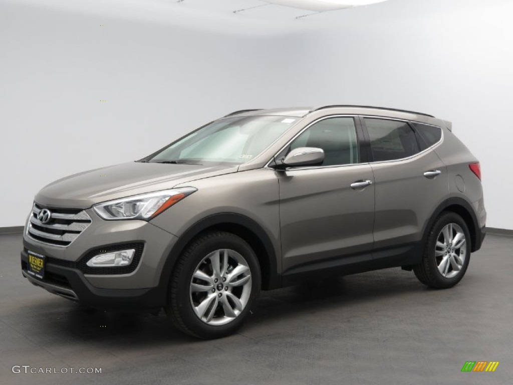 mineral gray 2013 hyundai santa fe sport 2 0t exterior. Black Bedroom Furniture Sets. Home Design Ideas