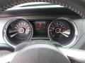 2014 Ford Mustang Charcoal Black/Cashmere Accent Interior Gauges Photo