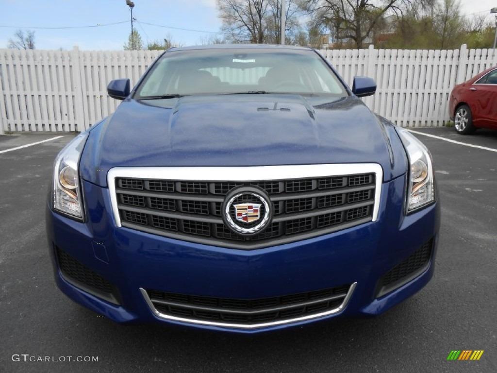 Opulent Blue Metallic 2013 Cadillac Ats 2 0l Turbo Awd Exterior Photo 79897859