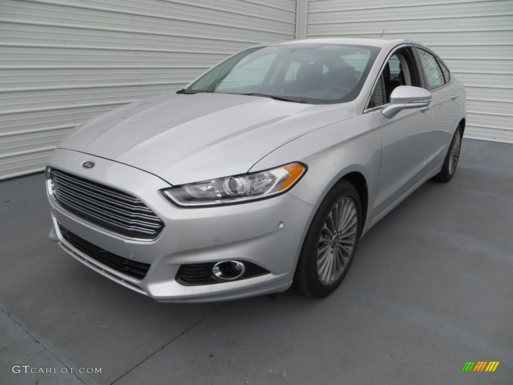 Ingot Silver Metallic 2013 Ford Fusion Titanium Exterior Photo 79898136