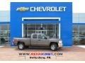 2013 Mocha Steel Metallic Chevrolet Silverado 1500 LT Extended Cab 4x4  photo #1