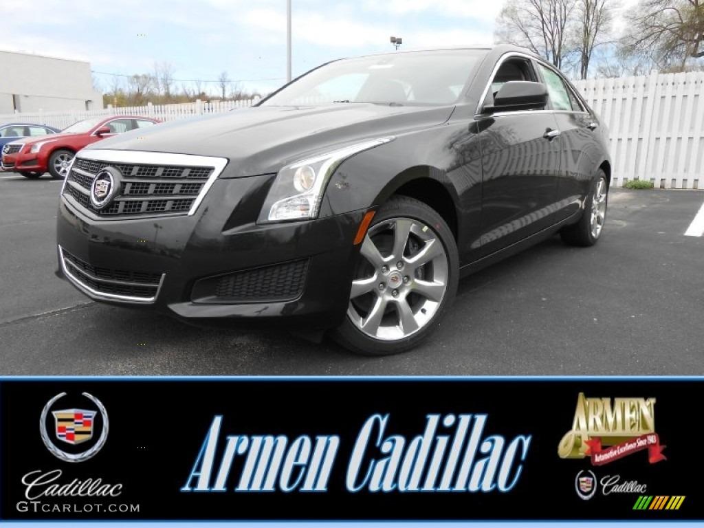 2013 Black Diamond Tricoat Cadillac Ats 2 0l Turbo Awd 79871927 Car Color