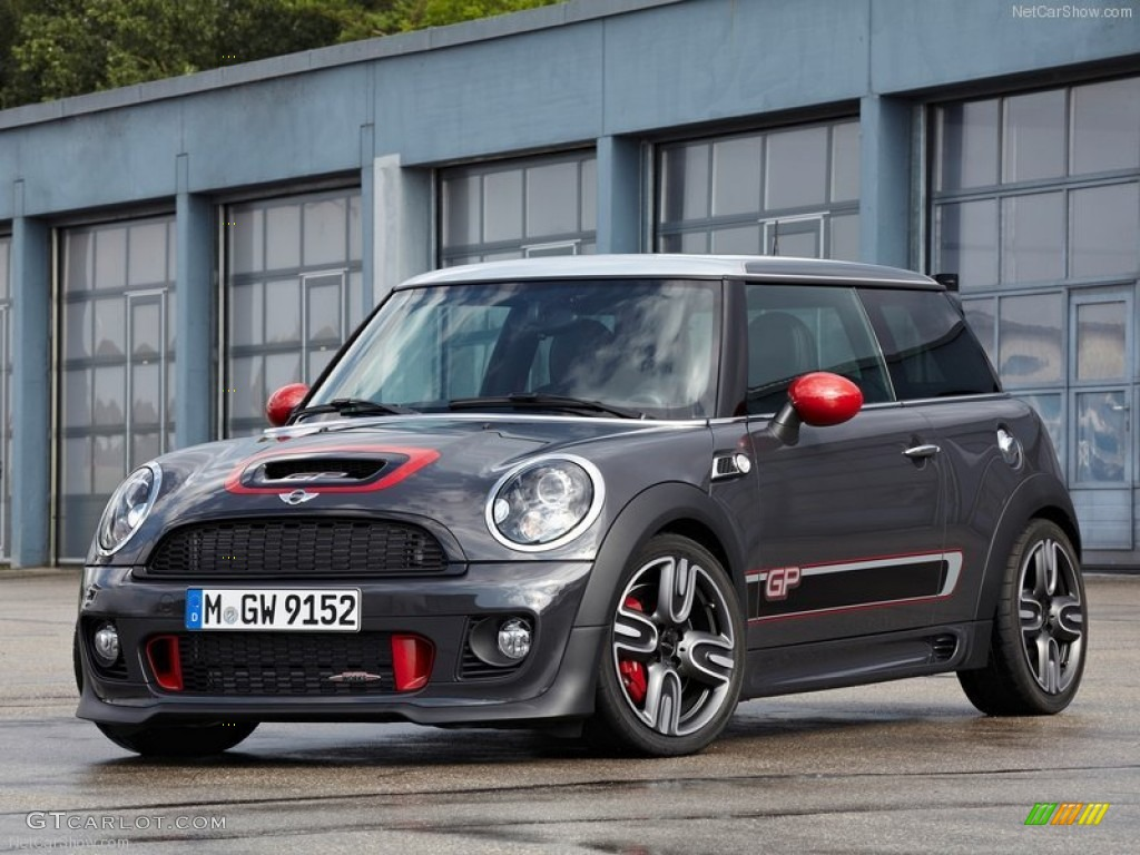 2013 thunder grey metallic mini cooper john cooper works. Black Bedroom Furniture Sets. Home Design Ideas