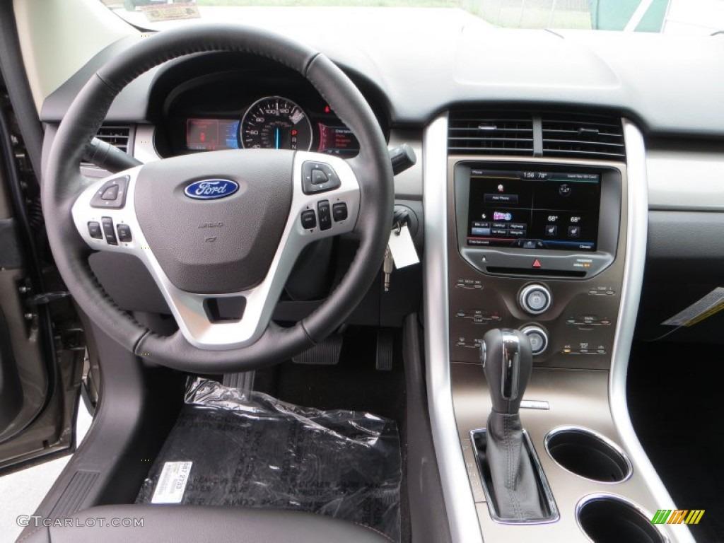 2013 Ford Edge SEL Charcoal Black Dashboard Photo ...