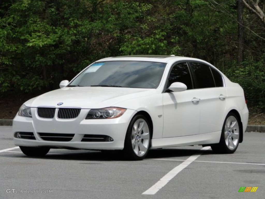 alpine white 2007 bmw 3 series 335i sedan exterior photo. Black Bedroom Furniture Sets. Home Design Ideas