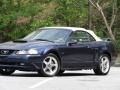 2003 True Blue Metallic Ford Mustang GT Convertible  photo #7
