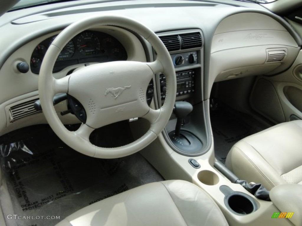 2003 Mustang GT Convertible - True Blue Metallic / Medium Parchment photo #9