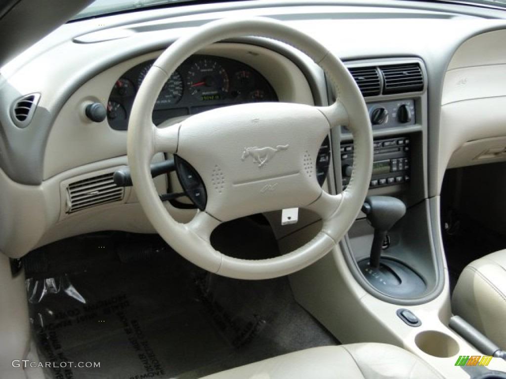 2003 Mustang GT Convertible - True Blue Metallic / Medium Parchment photo #10
