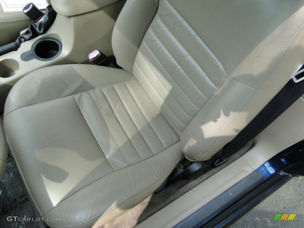 2003 Mustang GT Convertible - True Blue Metallic / Medium Parchment photo #11