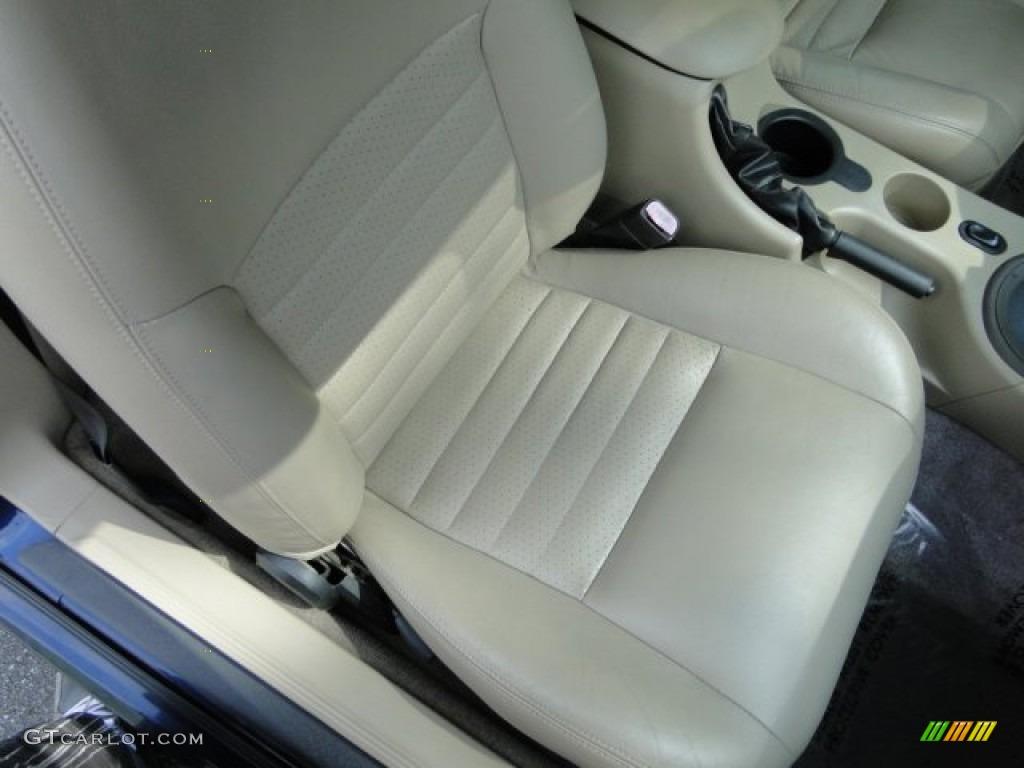 2003 Mustang GT Convertible - True Blue Metallic / Medium Parchment photo #12