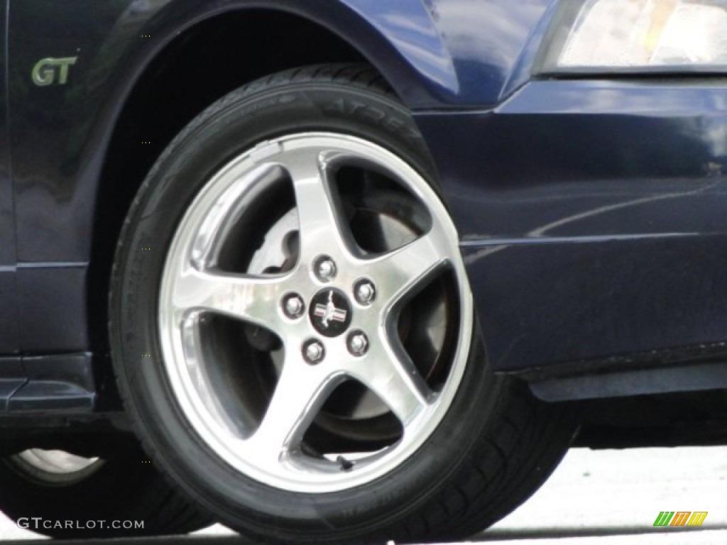 2003 Mustang GT Convertible - True Blue Metallic / Medium Parchment photo #18