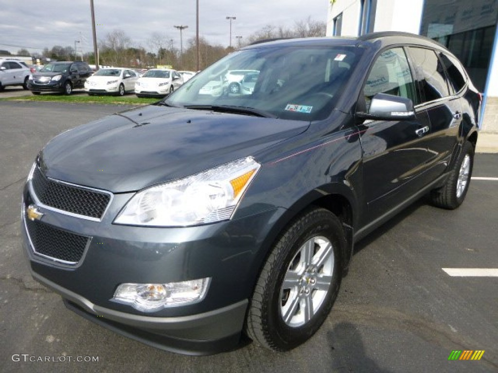 cyber gray metallic 2011 chevrolet traverse lt awd. Black Bedroom Furniture Sets. Home Design Ideas