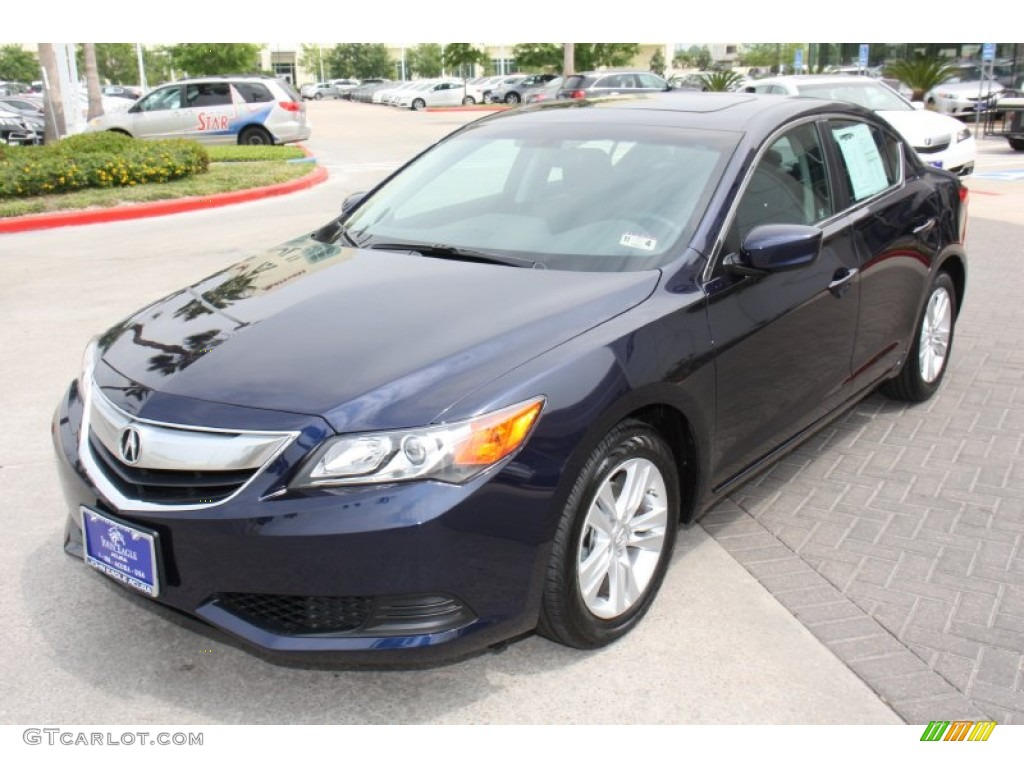 2013 Fathom Blue Pearl Acura ILX 2.0L #79872009 Photo #2